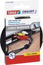 TESA 55239 Zwart 1stuk(s) kabelbinder