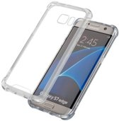 Protect Clear Hard TPU case voor Samsung Galaxy S7 Edge case hoesje