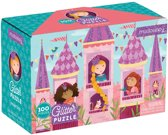 Mudpuppy 100 PC Glitter Puzzel - Prinses
