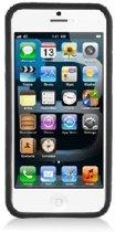 Apple iphone 5 / 5S Silicone Bumper Case hoesje Zwart