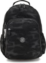 Kipling Seoul 2 In 1 Large Rugzak - Camo Black Fl