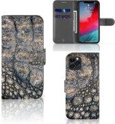iPhone 11 Pro Telefoonhoesje met Pasjes Krokodillenprint