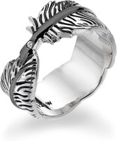Hot Diamonds - Feather Ring   DR129