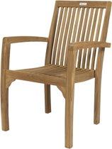 MaximaVida teak stoel Sunda- stapelbaar- A-grade teak- min afname 2 stuks