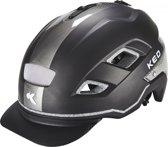 KED Berlin helm grijs/zwart Hoofdomtrek 56-63 cm