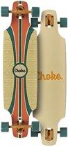 Choke Longboard Tracer Dropthrough Beige/groen
