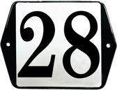 Emaille huisummer model oor - 28