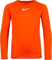 Nike Park First Layer Thermoshirt - Thermoshirt  - oranje - 152