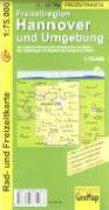 Freizeitregion Hannover und Umgebung 1 : 75 000. Rad- und Freizeitkarte