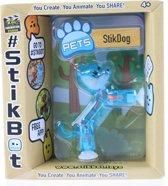 Goliath Stikbot Speelfiguur Hond Blauw 6 Cm