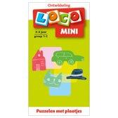 Loco Mini Puzzelen met plaatjes 4-6 jaar groep 1-2
