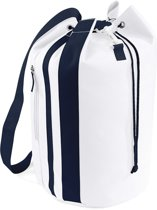 Bagbase Pacific Sea Bag White/French Navy 28 Liter