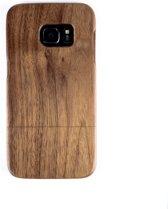 Houten Samsung S7 hoesje - walnoot