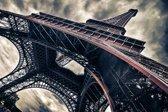Glasschilderij -Eiffeltoren, Parijs 120x80cm