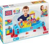Mega Bloks First Builders Speel en Leertafel - Constructiespeelgoed