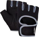 Avento Fitness Handschoenen Neopreen - Zwart/Donkergrijs - L/XL