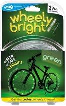 2x LED lichtslangen groen voor op de fiets - Fietsverlichting - Spaakverlichting - Veilig fietsen