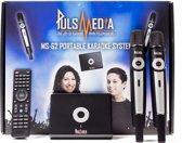 Pulsmedia Karaoke Player met 4000 Engelse liedjes