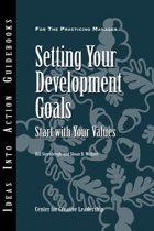 Setting Your Development Goals