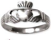 Claddagh Zilveren Ring maat 62