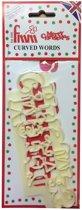 FMM uitsteker - Merry Christmas - 16 x 6 cm