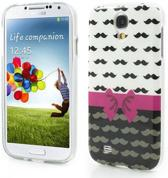 Bowknot Silicone hoesje Samsung Galaxy S4