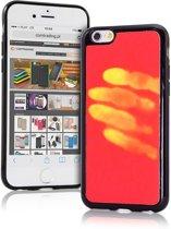 Thermo hoesje Galaxy S7 Rood wordt geel bij warmte