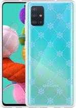 Samsung Galaxy A51 Hoesje Snowflake Pattern