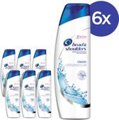 Head & Shoulders Classic Clean - Voordeelverpakking 6x280ml - Shampoo