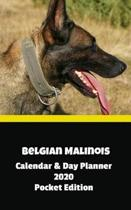 Belgian Malinois Calendar & Day Planner 2020 Pocket Edition