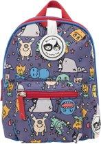 Babymel Zip & Zoë Kid's Mini Backpack Monster Blauw