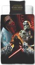 Star Wars EPVII Awaken - Dekbedovertrek - Eenpersoons - 140 x 200 cm - Multi