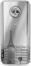 Casetastic Softcover Motorola Moto G6 - Paris City Houses