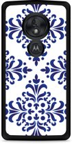 Motorola Moto G7 Play Hardcase hoesje Delfts Blauw