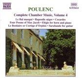 Poulenc:Com.Chamber Music Vo.4