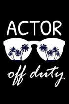 Actor Off Duty