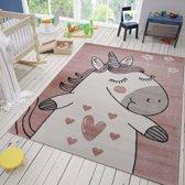 Vloerkleed Kinderkamer Sofie 80x150 - Roze