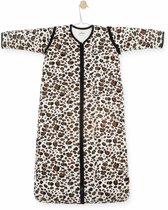 Jollein Leopard Natural Padded Babyslaapzak met afritsbare mouw - 110cm