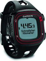 Garmin Forerunner 10 - GPS Sporthorloge voor heren - Zwart/Rood