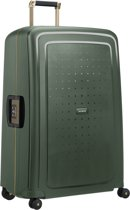 Samsonite Reiskoffer - S'Cure Dlx Spinner 81/30 (Groot) Dark Green/Gold Deluscious