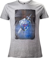 T-Shirt Nintendo Zelda - Shield - S