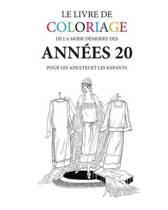 Le Livre de Coloriage de Mode Demodee Des Annees 20