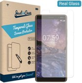 Just in Case Tempered Glass Nokia 7 plus Protector - Arc Edges