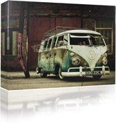 Sound Art - Canvas + Bluetooth Speaker VW Camper Van (41 x 51cm)