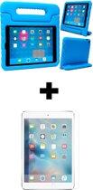 BTH iPad 5 Kinderhoes Kidscase Cover Hoesje Met Screenprotector Blauw