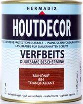 Hermadix Houtdecor Verfbeits Transparant - 0,75 liter - 654  Mahonie