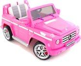 Mercedes kinderauto G-klasse AMG roze