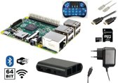 Raspberry Pi 3 starter kit + WiFi + NOOBS software tool + draadloos toetsenbord