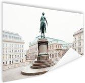 Aartshertog Albrecht Monument Wenen Poster 60x40 cm - Foto print op Poster (wanddecoratie)