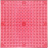 Strictly BRIKS LBP32TTR Bouwplaat 32x32 Transparant Rood